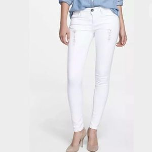 Kut from the Kloth Jeans Brigitte  Skinny White